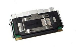Intel P3 slot 1 550 MHz CPU SL3F7 100 MHz 512 Ko 2.0 V avec Original Dissipateur de chaleur