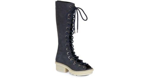 36 1 Mallory Trendy Super 3 Stivali Sandalo Phillip Lim Uk 3 vera scarpe pelle Nuovo 7pwqf5Zx8X