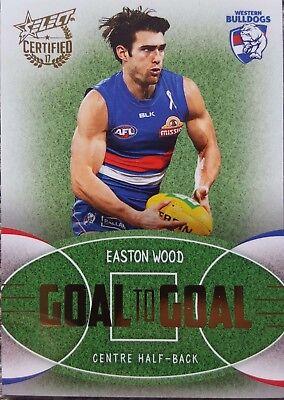PC7 Easton WOOD Western Bulldogs 2016 Select AFL Premiership Commemorative