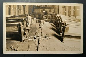 1928-Montpelier-Vermont-Worcester-Massachusetts-Bethany-Church-After-Flood-RPPC