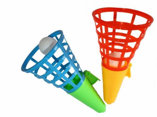 3 x Fangballspiele 20 cm Fangballspiel Fangbecher Geschicklichkeitsspiel Set Spielzeug für draußen