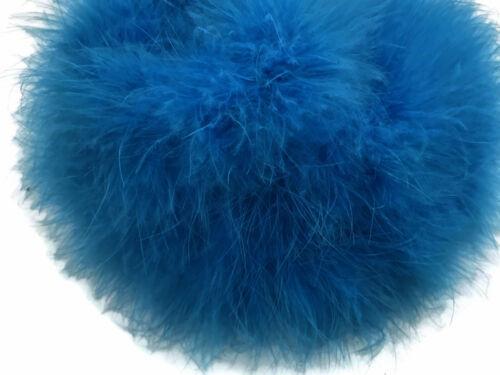 Turquoise Blue Turkey Medium Weight Marabou Feather Boa 25 Gram Party 2 Yards