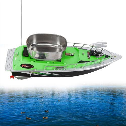 RC Fischköder Boot Fernbedienung Schiff Futterboot Köderboot 300m mit Bait Lampe
