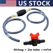 Car Fuel Tank Sucker Oil Transfer Fuel Pump Liquid Manual Pump With Tube Valve