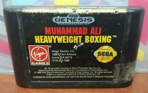 Muhammad-Ali-Boxing-Sega-Genesis-Rare-Game-Tested-Works-Authentic-Original