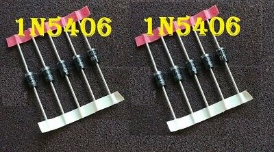 1N5406 3A 600V Diode from US 5 pcs