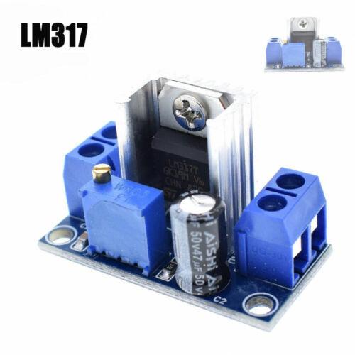 LM317 réglable Conv Régulateur De Tension Module variable Power Supply DC-DC NEUF