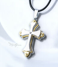 Titanium Steel Cross pendant necklace - TC4