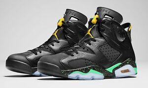 eb56043d61d Nike Air Jordan 6 VI Retro Brazil Size 13.5. 688447-920 1 2 3 4 5 7 ...