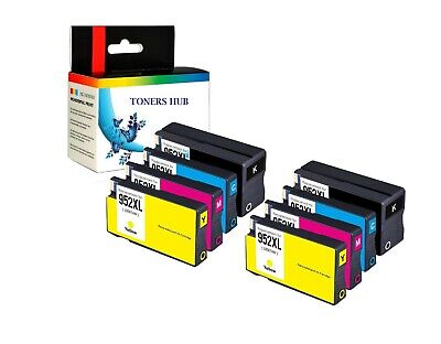4 Ink Cartridge for HP OfficeJet Pro 7740 8210 8216 8702 8710 8715 Printer 952XL