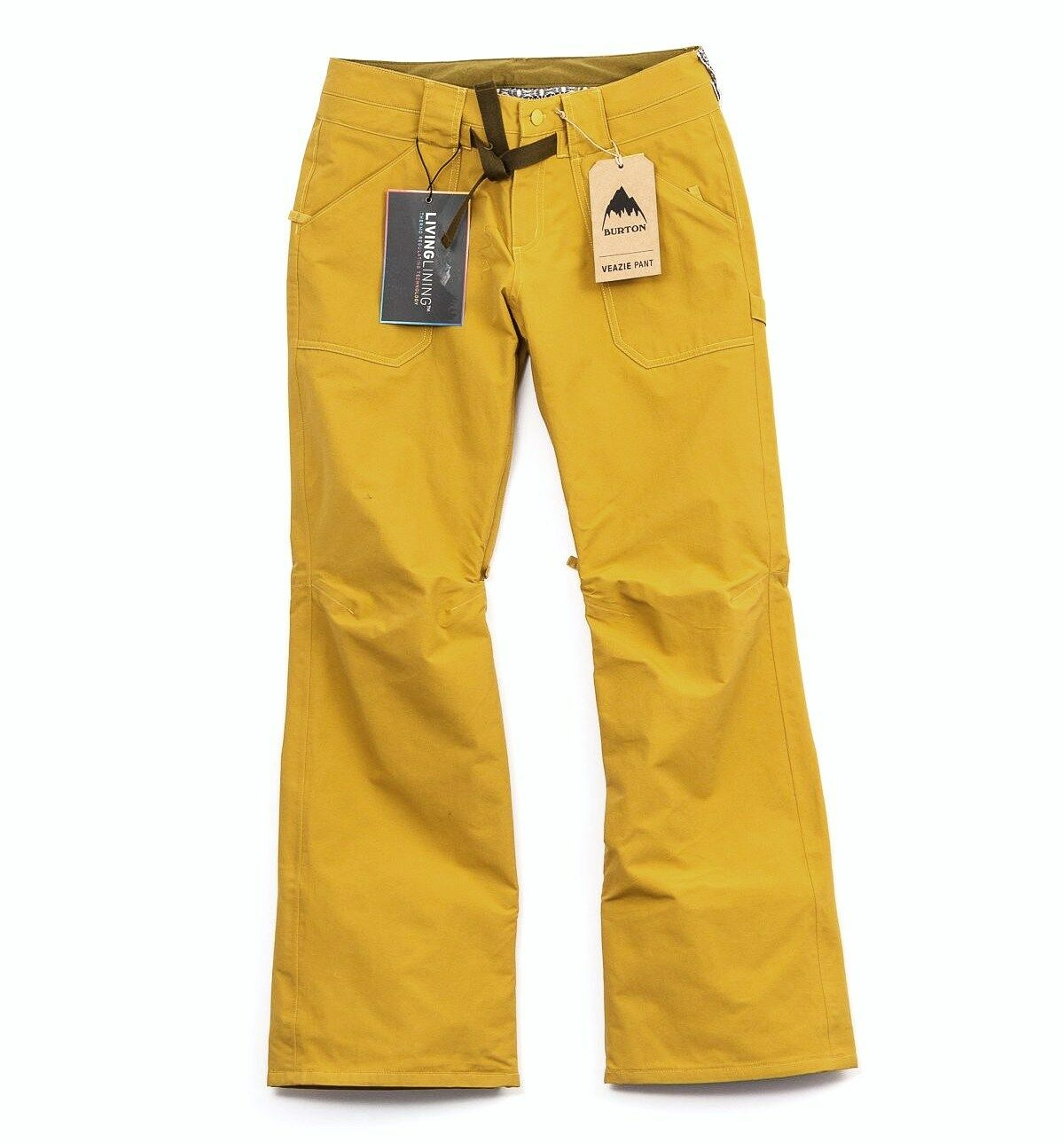 BURTON Women's VEAZIE Snow Pants - Harvest gold - Small - NWT