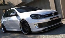 Spoilerlippe für VW Golf 6 GTI ed35 Lippe Front spoiler Spoiler Diffusor Ansatz