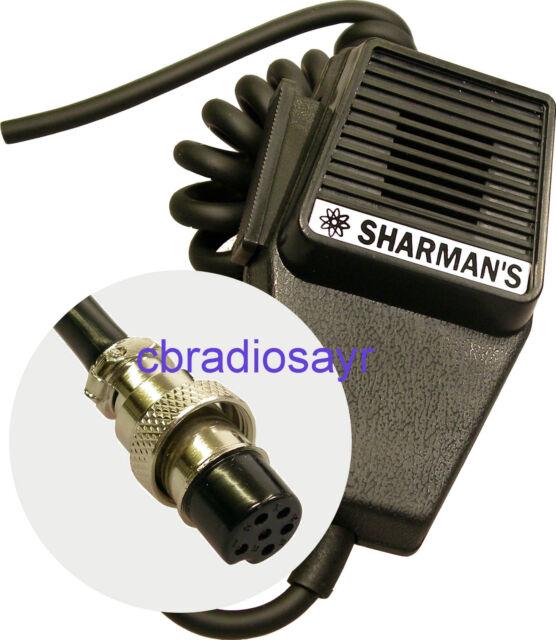 replacement cb microphone 6 pin wiring albrecht midland etc ebay rh ebay co uk midland cb mic wiring midland microphone wiring diagram