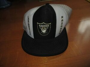 652ebb59175 Image is loading VINTAGE-RAIDERS-LUCKY-STRIPE-LOS-ANGELES-Vintage-Snapback-
