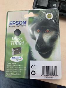 """EPSON T0891 Black Serie """"Singe pour Stylus Office BX300, S20, SX100, SX215, SX40"""