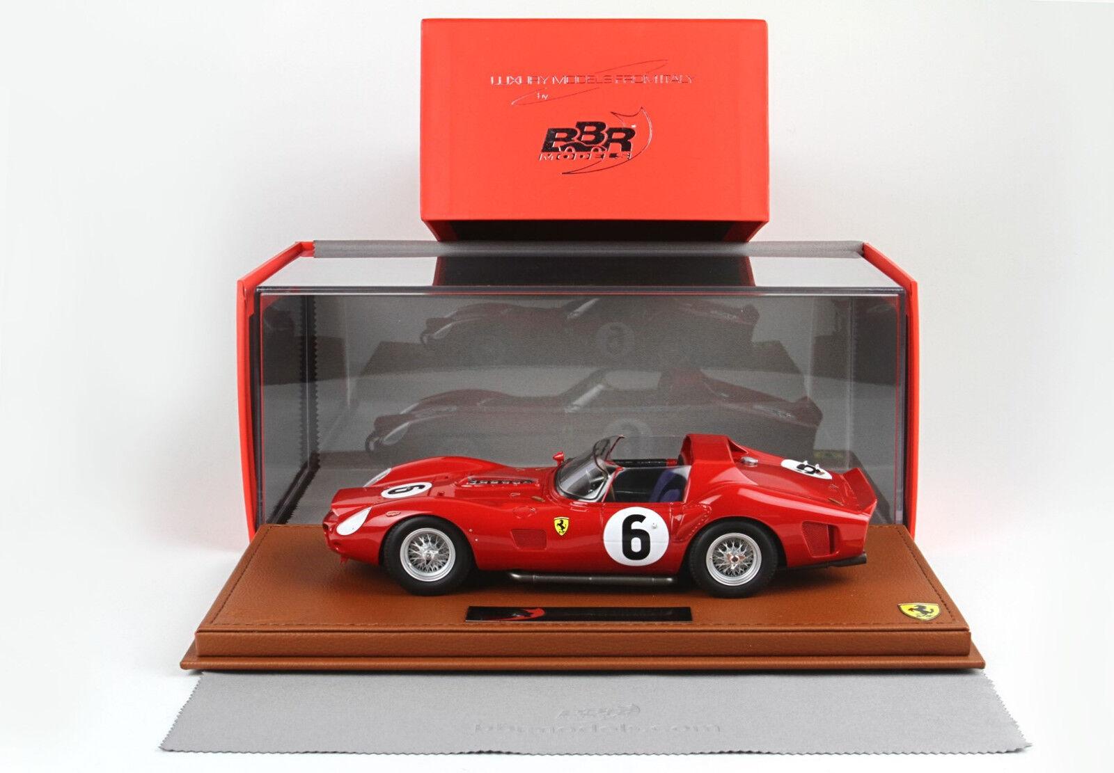 Ferrari 330 TRI Winner le mans1962 1 18 lim.ed. 99 pcs BBRC1803V BBR MODELS