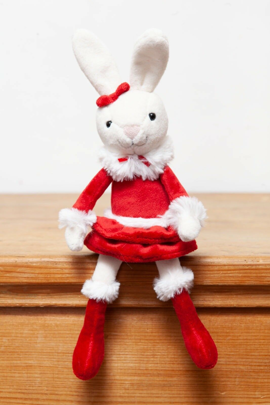 Jellycat Christmas Bitsy Bunny Rabbit