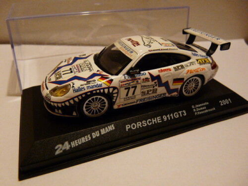 24H36M 1//43 Ixo Altaya 24 Hours of Mans Porsche 911 GT3 2001