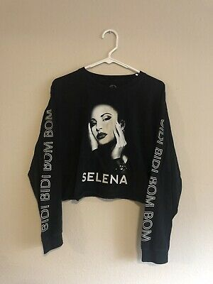 2016 Selena Bidi Bidi Bom Bom Long Sleeve Crop Top Ebay