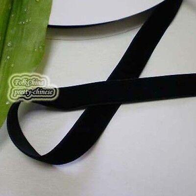 Black Velvet Ribbons Trim Sewing Scrapbook 6mm,10mm,12mm,15mm,18mm,24mm,38mm