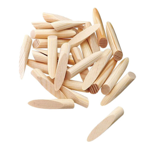 50pcs Pocket Hole Plugs 9.5mm Pine Wood Plugs Woodworking Jointing Accessories