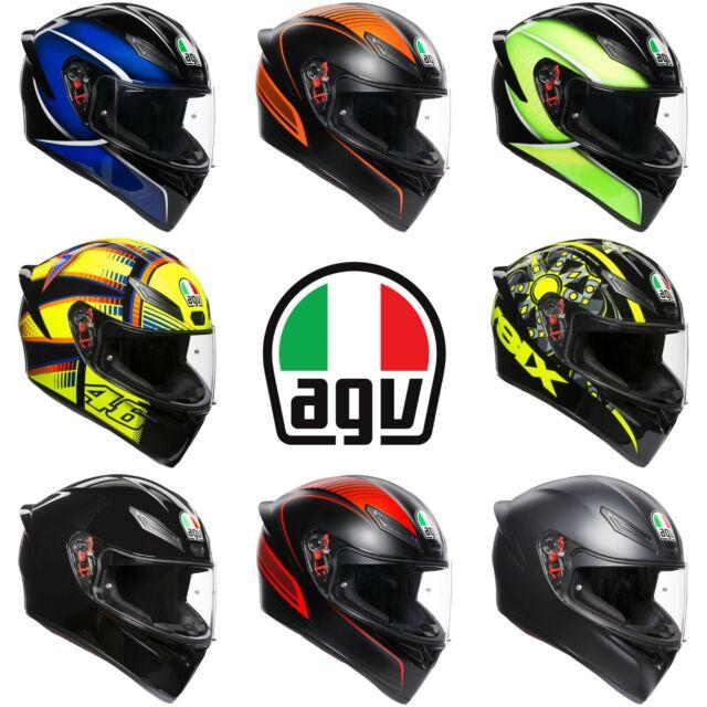 Agv K5 Hero Black Red Helmet Sml For Sale Online Ebay