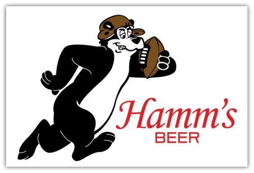 HAMM/'S Beer Sticker Decal *DIFFERENT SIZES* Bear Car Bumper Bar Window Wall