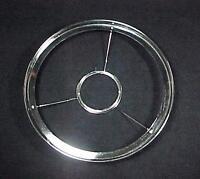 Nickel Brass Lamp Shade Ring Holder 10 For Cd Rayo 2 13/16 Ctr Kerosene Oil