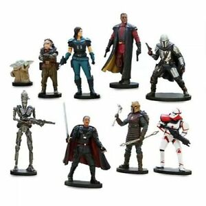 Mandalorian-Loose-Figures-Disney-Star-Wars-the-Child-Cara-Dune-IG-11-Bonus