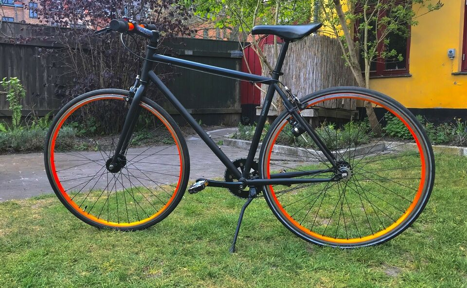 Herrecykel, andet mærke City bike, 0 gear