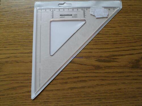 Rumold Zeichendreieck 4325 Plexiglas *1 Stück* *Neu*