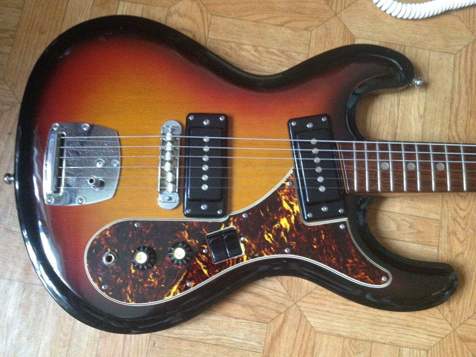70's Aria Diamond Univox Phase 1 Custom Hi-Flier Mosrite style Nirvana Cobain