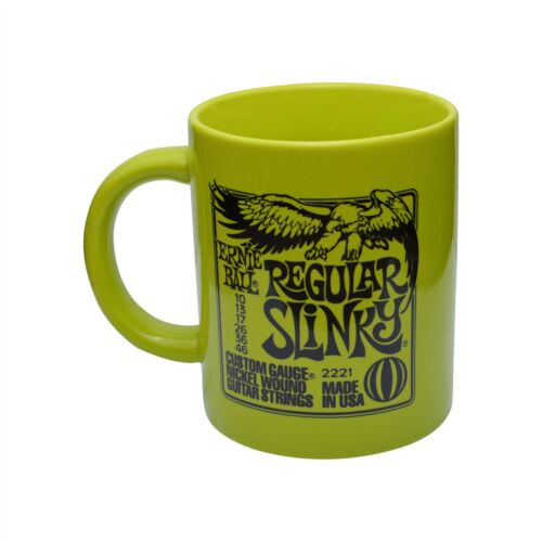 Regular Slinky Ernie Ball Slinky Guitar Mug Green