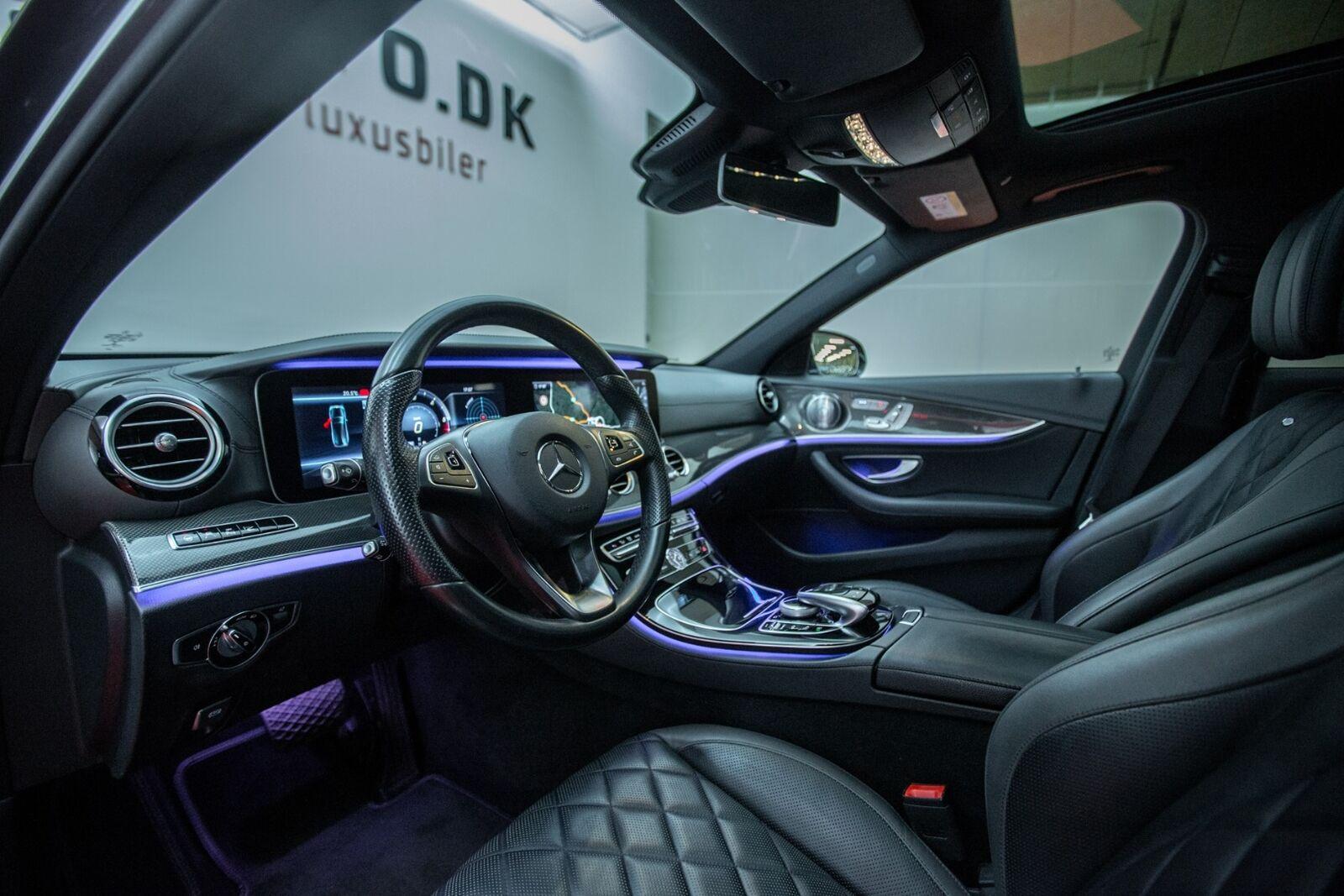 Mercedes E350 d 3,0 AMG Line stc. aut. 4Matic 5d - 3.800 kr.