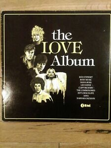 Various-The-Love-Album-K-tel-NE-1092-Vinyl-LP-Compilation