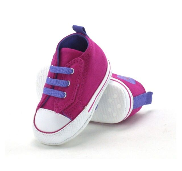 7761d870b6df CONVERSE CT EASY SLIP - BABY CRIB SHOES - 845251C - COSMOS PINK - BRAND NEW