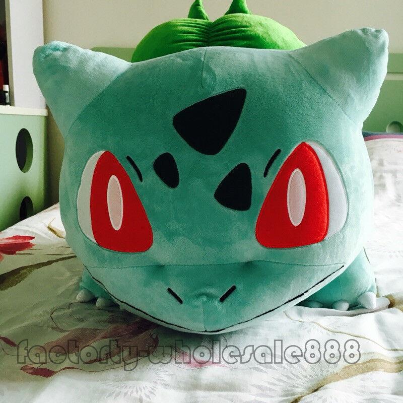 Giant Bulbasaur Plush Soft Toys Stuffed Anime Doll Pillow Birthday Xmas Gift 20
