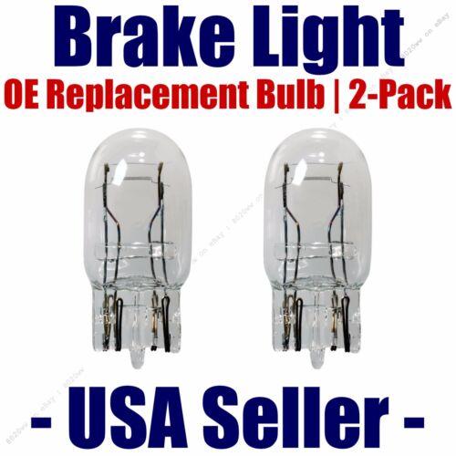 Stop//Brake Light Bulb 2pk Fits Listed Acura Vehicles 7443