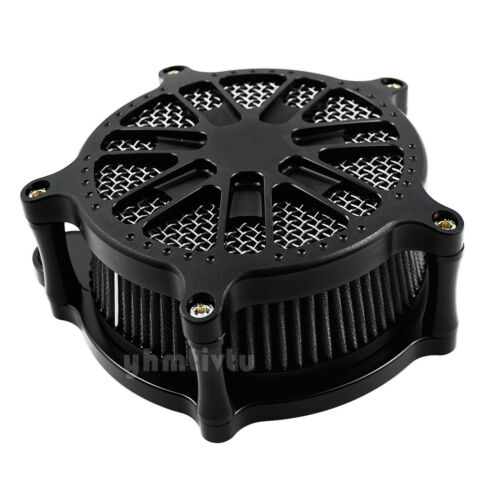 Matte Dots Air Cleaner Gray Elment Air Filter Fit For M8 Touring Trike 2017-2019