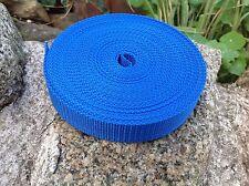 25 mm Correas Cinta Azul Real Texturado Tejido X 10 Metros