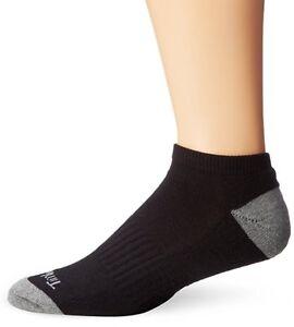 New Timberland Men's 3-Pack  Socks Black Gray Men's Size 9-13
