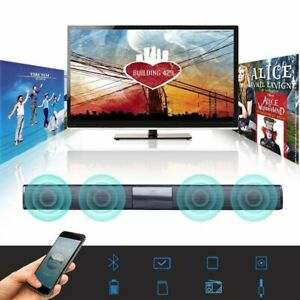 Barra-de-Sonido-Home-Theater-Tv-Bluetooth-Sistema-De-Altavoz-de-barra-de-sonido-con-subwoofer
