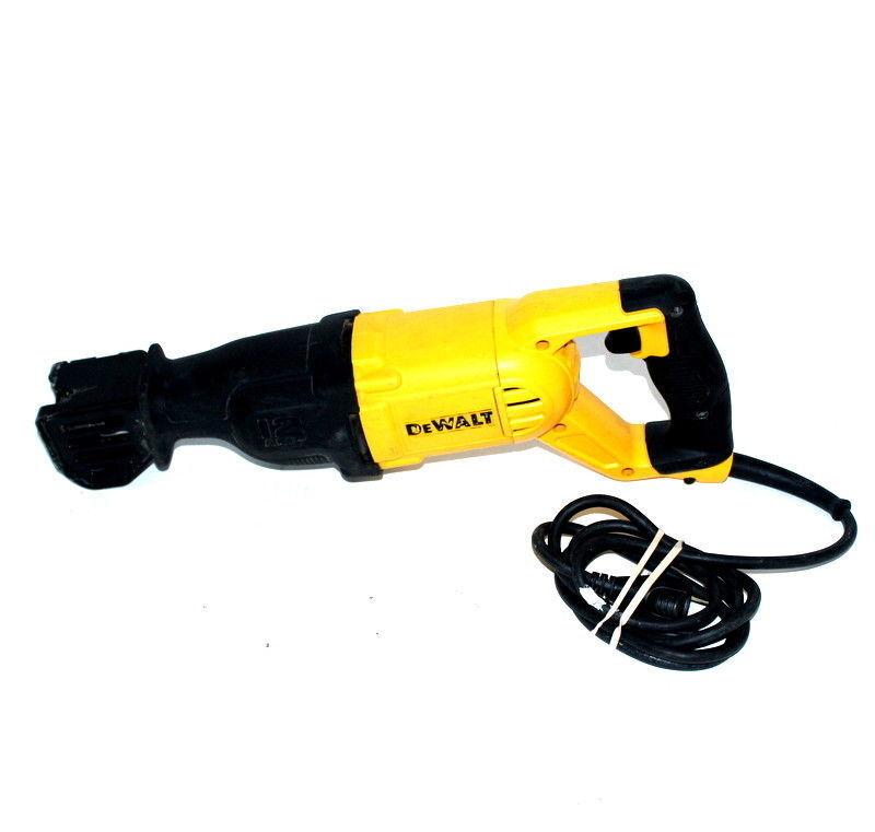 DEWALT DWE305 120V Electric Reciprocating Saw