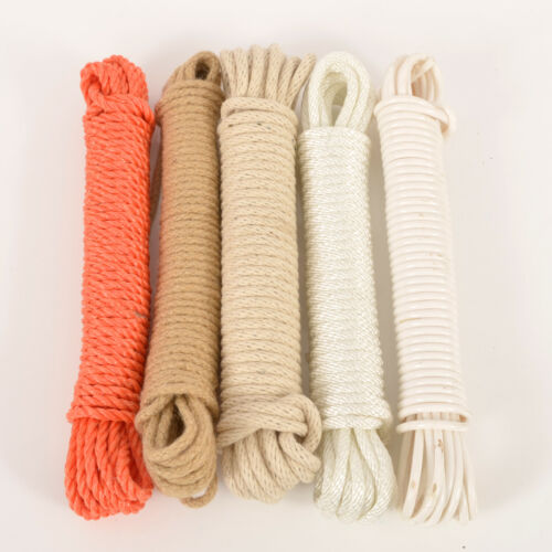 10 x 5 PACKS BOX OF 50  ASSORTED 10M ROPE//SASH CORD//PULLEY LINE IDEAL FOR RESALE