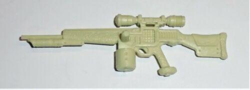 GI Joe Figure Accessory 1990 Rock Viper       Cream Colored Heavy Rifle Gun