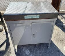 Granite Surface Plate 24 X 36 X 4 Thick Cabinet Stand