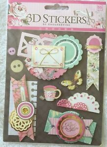 Scrapbooking /& card making 3-D STICKERS /& EMBELLISHMENTS