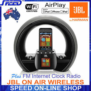 JBL-ON-AIR-WIRELESS-AirPlay-Speaker-for-all-iPhone-iPad-iPod-FM-Internet-RADIO