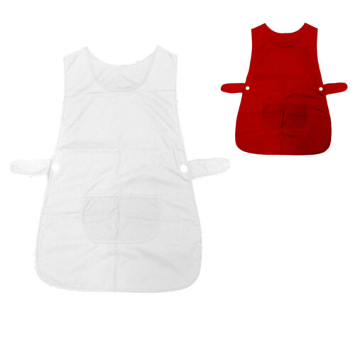 Ladies Women Tabard Apron Kitchen BBQ Catering Cleaning Bar 50x80 cm
