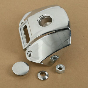 Automobiles & Motorcycles Chrome Motorcycle Headlight Mount Bracket Cover For Harley Sportster Xl 883 1200 Models 1992-2013